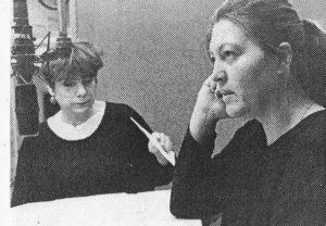 """1993  """"Souvenirs, Souvenirs.."""" von Fruttero / Lucentini mit Hannelore Hoger und Anita Ferraris"""